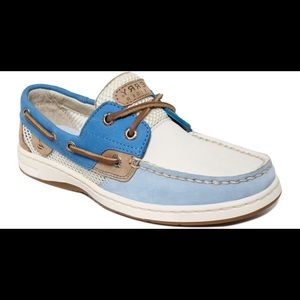 Women's White Bluefish Boat Shoes